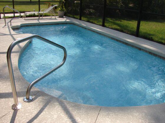 Een eigen zwembad